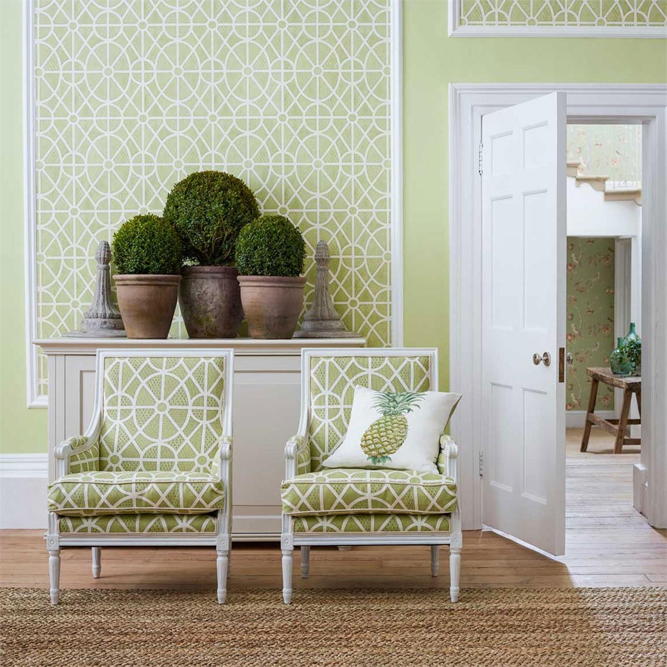 tapete sanderson fr hlich wohnen berlin. Black Bedroom Furniture Sets. Home Design Ideas