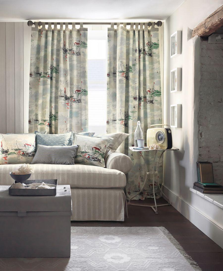 sail away sanderson stoff fr hlich wohnen berlin. Black Bedroom Furniture Sets. Home Design Ideas