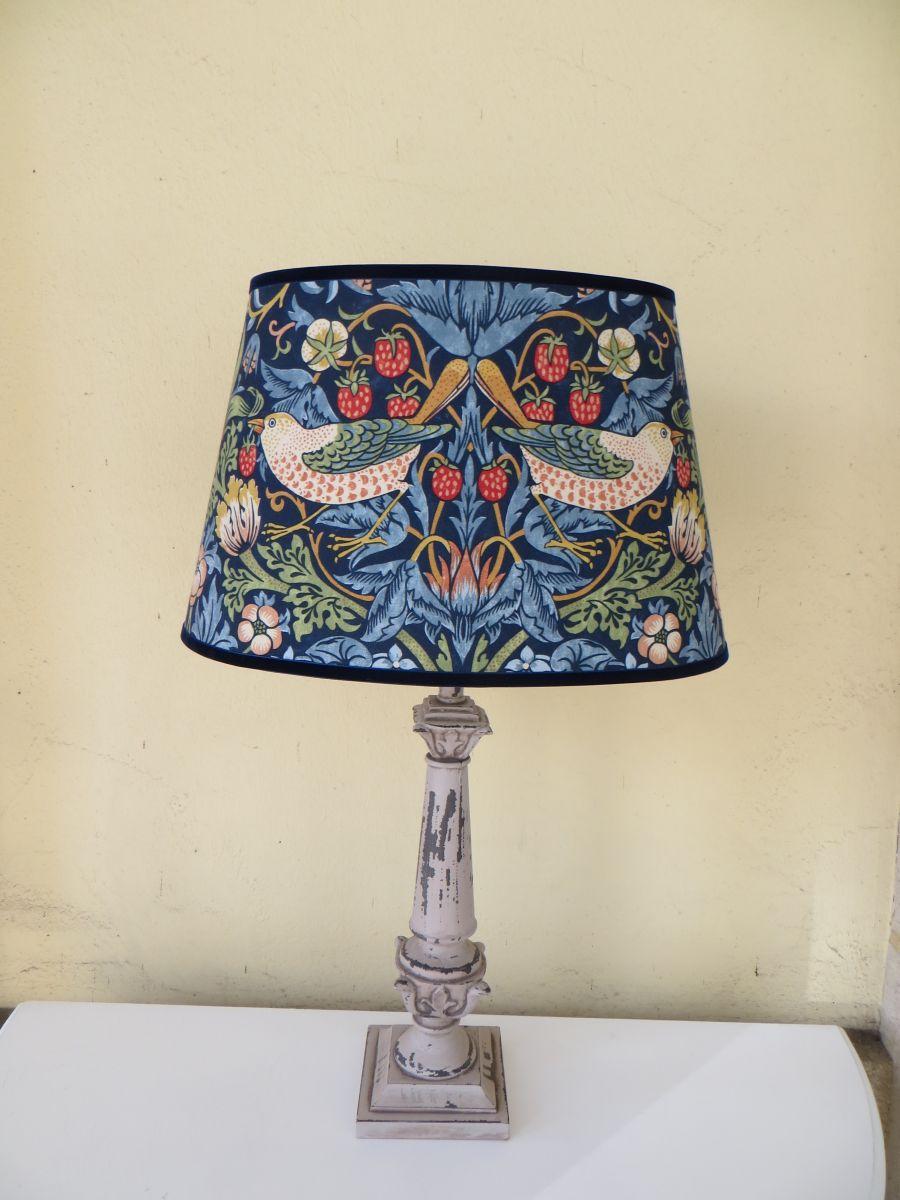 William Morris Lampshade Lamp Decorating Ideas