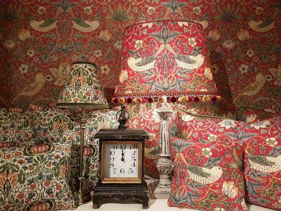 William Morris & Co – englische Stoffe