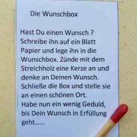 Wunschbox Text