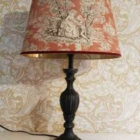 Toile de jouy Terra Sanderson Lampe